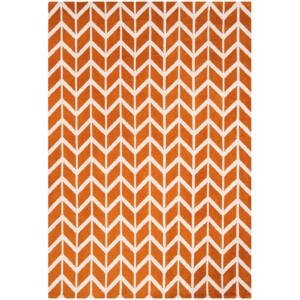 ARLO CHEVRON narancs szőnyeg