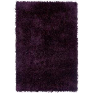 DIVA sötétlila shaggy szőnyeg