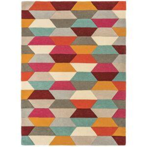 FUNK 03 HONEYCOMB bright színes szőnyeg
