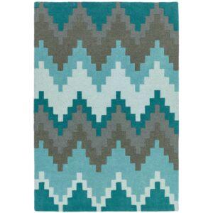 MATRIX 21 CUZZO kék szőnyeg