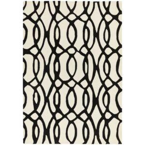 MATRIX 35 WIRE fekete/ fehér szőnyeg