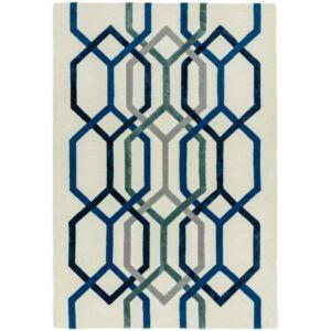 MATRIX 65 HEXAGON fehér szőnyeg