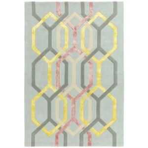 MATRIX 67 HEXAGON ezüst szőnyeg