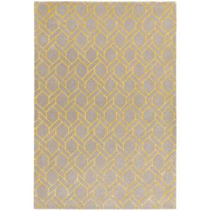 NEXUS FL02 ezüst sárga szőnyeg