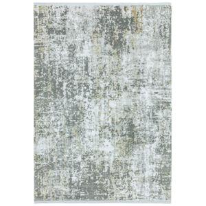 OLYMPIA szürke/arany absztrakt szőnyeg