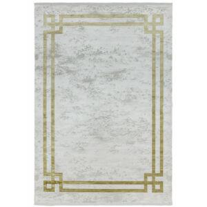 OLYMPIA szürke/arany bordűr szőnyeg