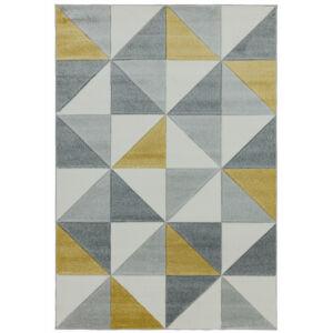 SKETCH CUBIC sárga szőnyeg