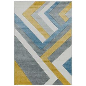 SKETCH LINEAR szürke/színes szőnyeg
