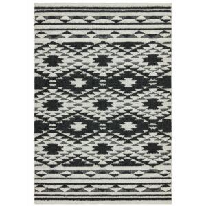 TAZA fekete szőnyeg