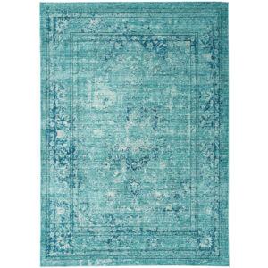 VERVE VE10 MEDALLION kék szőnyeg