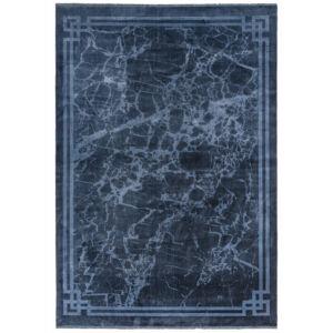 ZEHRAYA kék bordűr szőnyeg