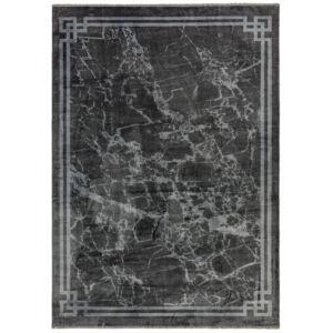 ZEHRAYA szürke bordűr szőnyeg