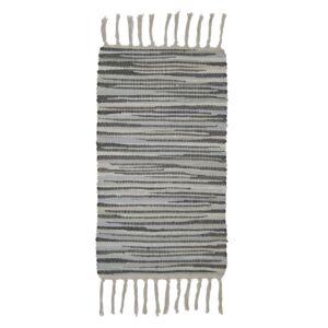 ALABAMA 318 szürke rongyszőnyeg 60x120 cm