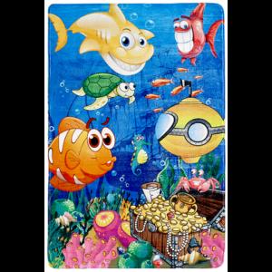 MyFairy Tale 638 Under The Sea Gyerekszőnyeg 100x150 cm