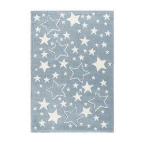AMIGO 329 kék gyerekszőnyeg csillagokkal