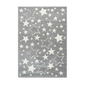 AMIGO 329 ezüst gyerekszőnyeg csillagokkal