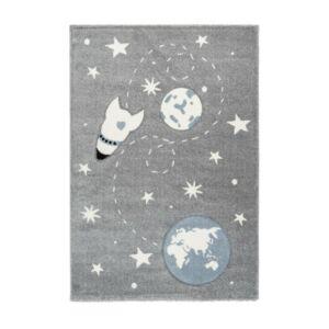 AMIGO 330 ezüst gyerekszőnyeg világűr