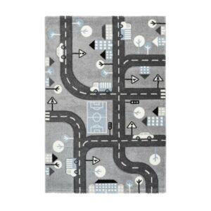 AMIGO 331 ezüst gyerekszőnyeg utca