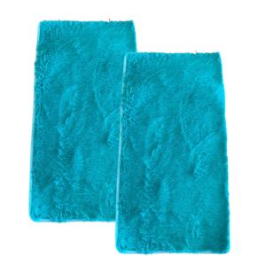CSOMAGAJÁNLAT: 2 db Fluffy Kék Szőnyeg 60x110 cm