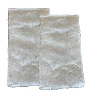 CSOMAGAJÁNLAT: 2 db Fluffy Krémszínű Szőnyeg 60x110 cm