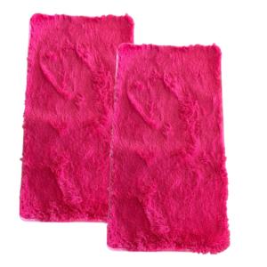 CSOMAGAJÁNLAT: 2 db Fluffy Pink Szőnyeg 60x110 cm