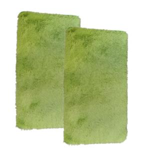 CSOMAGAJÁNLAT: 2 db Fluffy Zöld Szőnyeg 60x110 cm