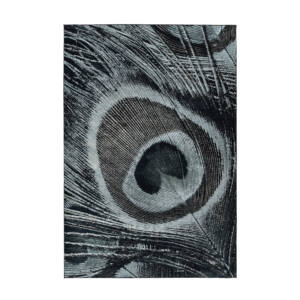 Greta 801 PET Fekete Szőnyeg