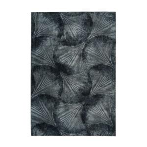GRETA 802 PET fekete szőnyeg