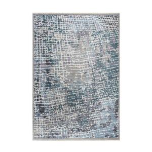 MEDELLIN 406 ezüst-kék szőnyeg