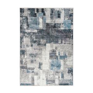 MEDELLIN 407 ezüst-kék szőnyeg