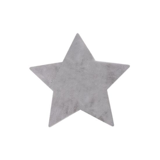 MyLUNA 858 ezüst gyerekszőnyeg csillag 86x86 cm