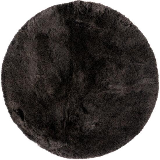 MySAMBA 495 sötétszürke szőnyeg 80 cm kör