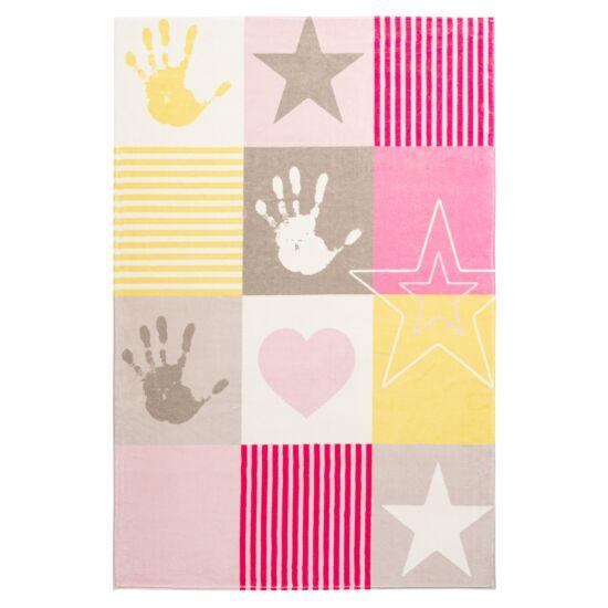 MySTARS 411 pink gyerekszőnyeg 160x230 cm