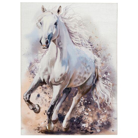 MyTORINO KIDS 235 fehér ló gyerekszőnyeg 80x120 cm